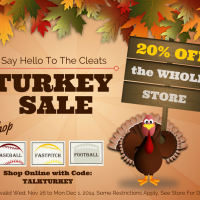 Lets Talk Turkey – 20% OFF THE ENTIRE STORE!